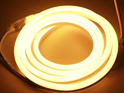 LED Lichtschlauch 5m | Lichtband für Außen| Lichtschlauch diffuses Licht| LED Lichtband dimmbar| Wasserdicht nach IP68