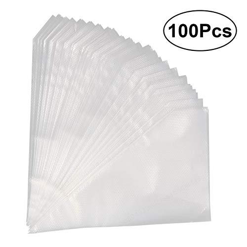 100 STÜCKE Transparent Einweg Spritzbeutel Einweg Gebäck Kuchen Dekoration Taschen