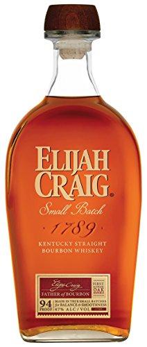6. Elijah Craig – Whisky bourbon 12 años de 700 ml