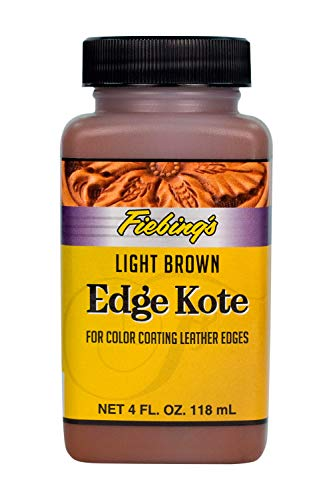 Edge Kote Edge Finisher 4 oz Bottle (Light Brown)