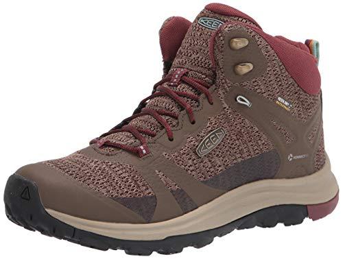 KEEN Women's Terradora 2 Waterproof Mid Height Hiking Boot, Canteen/Andorra, 9 M (Medium) US