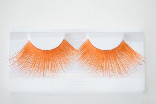 Künstliche Wimpern Orange jumbo