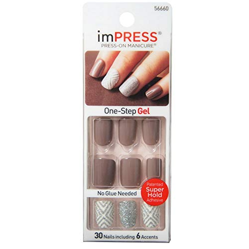 Impress Press-On Manicure, Ultra Gel Shine 30 ea (Styles May Vary)
