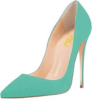 aquamarine high heels