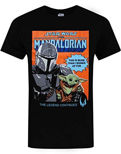 Star Wars Das mandalorianische T-Shirt Herren Baby Yoda Erwachsene Geschenk Top 3XL
