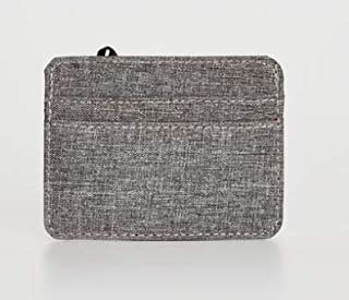 Grey Plain Cardholder Purse 0W3669Z8-CT3 LC Waikiki