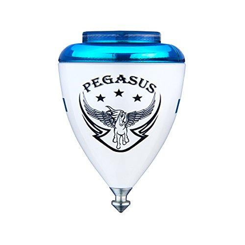 Trompos Espace–Pegasus Toupie–Pointe Fixe Modèle–3Couleurs Disponibles