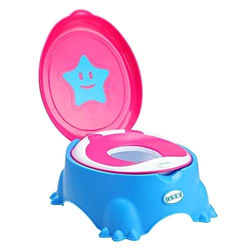 Siège de toilette pour enfant siège de toilette siège de bébé anneau coussin de siège de toilette pour enfant (Couleur : Bleu)