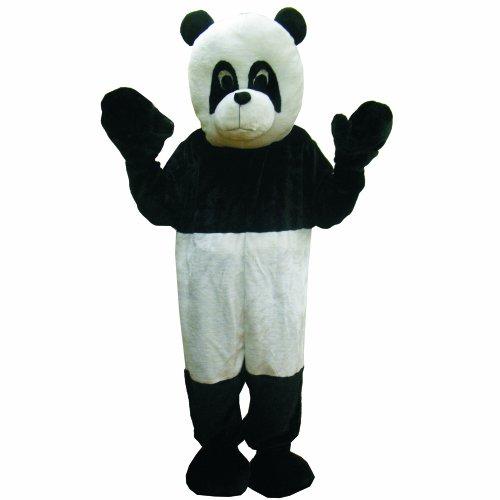 Dress Up America Disfraz de Mascotaa de Oso Panda Adulto Adulto Negro y Blanco