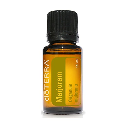 doTERRA - Marjoram Essential Oil - Supports Healthy Immune System, May Promote Calming Properties, Nervous System, and Cardiovascular Health; for Diffusion, Internal, or Topical Use - 15 ml