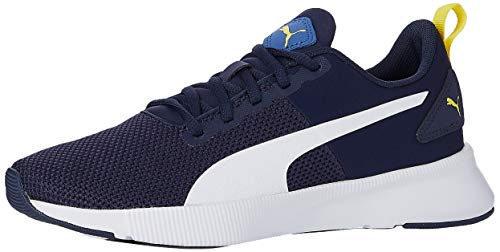 PUMA Unisex Flyer Runner Jr Sneaker, Blau (Galaxy Blue White-Peacoat-Meadowlark), 38 EU