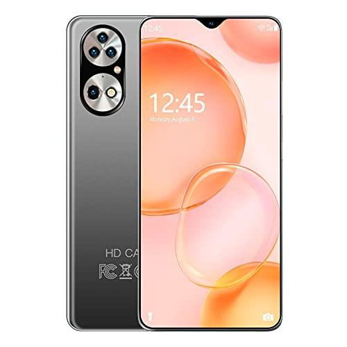 PENNY73 Teléfonos Celulares P50PRO 6.7 Pulgadas 5G Android 10.0 Smartphones 12GB RAM 512GB ROM Teléfonos Móviles de Fábrica Desbloqueo de la Versión Global,Silver