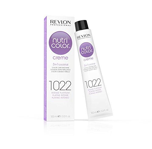 Revlon Professional Nutri Color Creme #1022-Intense Platinum - 100 Ml