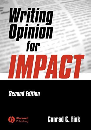 Writing Opinion for Impact 2e