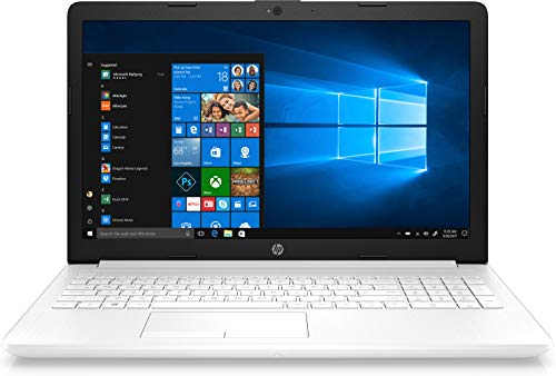 "HP 15-da1058ns- Ordenador portátil de 15.6"" HD (Intel Core i7-8565U, 8 GB de RAM, 256GB SDD, Intel UHD Graphics, Windows 10) Blanco - teclado QWERTY Español"