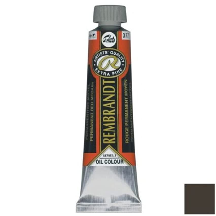 Royal Talens Rembrandt Artists' Oil Color, 40ml Tube, Brown Ochre (01054302)
