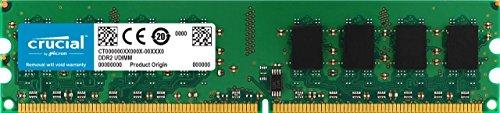 Crucial CT25664AA800 - Memoria RAM de 2 GB (DDR2, 800MHz, PC