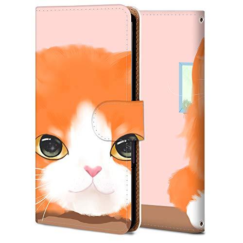 iPhone 5S ケース 手帳型 アイフォン 5S カバー スマホケース おしゃれ かわいい 耐衝撃 花柄 人気 純正 全機種対応 家の猫 アニメ かわいい 2625879