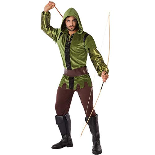 Atosa-61423 Atosa-61423-Disfraz Arquero-Adulto Hombre, Color verde, M a L (61423 , color/modelo surtido