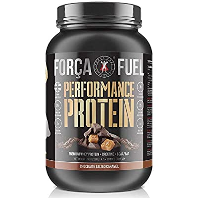 30g Whey Protein | 5g Creatine Monohydrate | EAA | BCAA | Build Muscle | Lose Fat | Improve Performance | Speed Up Recovery | Enhance Muscle Protein Synthesis - MPS | Força Fuel Performance Protein by Força Fuel Supplements