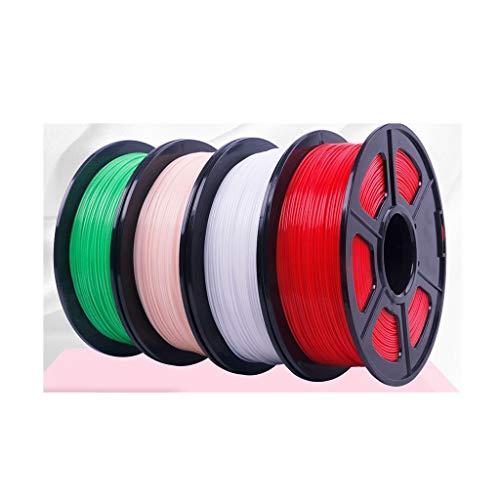 3D Printer Filament 3D Printing Filament PLA Filament 1.75mm for 3D Printers and Printing pens (Multi-Color Optional) pla Filament (Color : PLA 1.75 Powder)