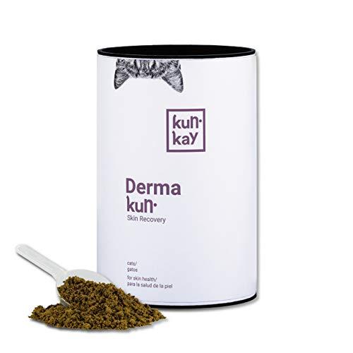KUNKAY Dermakun Gatos - 250 g | Suplemento para la Salud de la Piel y el Pelo
