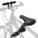 WANLI Silla Bicicleta Niño Deportes Al Aire Libre Asiento Bicicleta Niño Y Manillar De Bicicleta Set Portable Asiento Bicicleta Niño Delantera Fácil De Desmontar E Instalar, Apto para Niños
