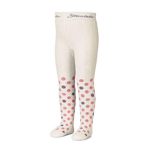 Sterntaler - meisjes panty thermo panty met stippen, natuur - 8721705n