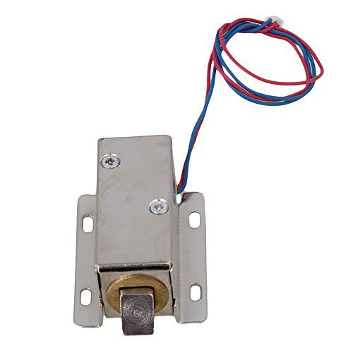 BQLZR TFS-A21 Schranktür Elektroschloss 12V Versammlung Magnetschloss Zunge Oben
