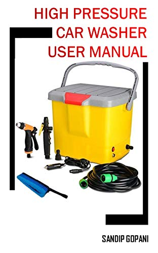 Portable 12V DC Electric High Pressure Car Washer Washer Machine Spray Gun with 16 Liter Water Tank: User Manual (20191218)