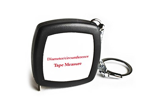 Perfect Tape Measure - Pocket Precision Circumference and Diameter Tape Measure and Layout Pocket Tool in Metric and Imperial - 1/4