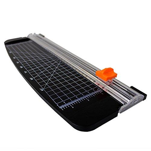 ペーパーカッター A4 ロータリー 小型 スライドカッター