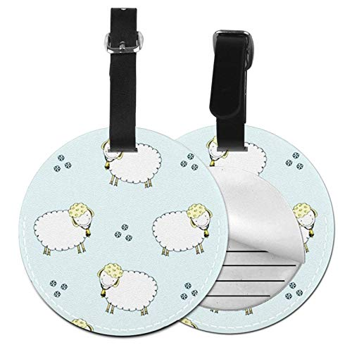 Luggage Tags Sheep 37 Suitcase Luggage Tags Business Card Holder Travel Id Bag Tag