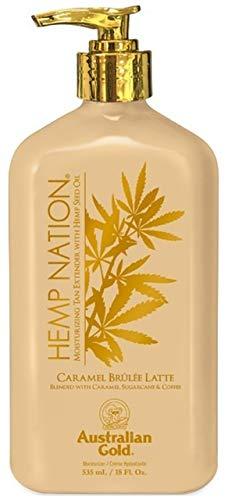 Australian Gold Hemp Nation Caramel Brulee Latte Moisturizing Tan Extender With Hemp Seed Oil