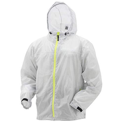 Frogg Toggs Xtreme Lite Waterproof Rain Jacket, Large, Smoke/Hi-Vis