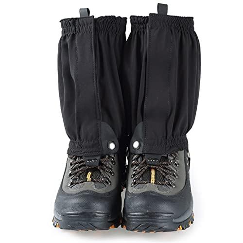 Botas de la pierna a prueba de agua Botas de tobillo bajo 2 pares Cubierta liviana empacable transpirable for el senderismo caminando ciclismo Caza de caza Mochila de pesca( excluyendo zapatos)
