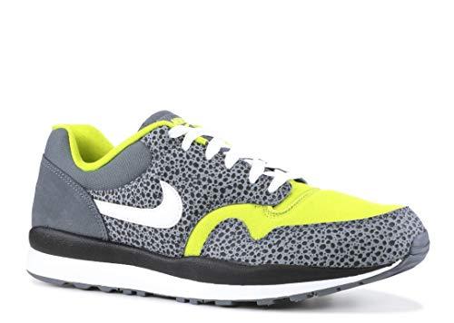 Nike Men's Air Safari SE Flint Grey/Bright Cactus/Black/White AO3298-001 (Size: 9.5) -  AO3298_001