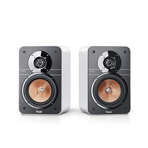 Teufel Ultima 20 Weiß Stereo Lautsprecher Musik Sound Hochtöner Mitteltöner Bass Speaker High End HiFi Tieftöner Schalldruck Soundanlage