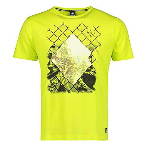 LERROS T-Shirt/Serafino 1/2 ARM, grün(wildlime (510)), Gr. L