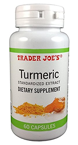 Trader Joe's Turmeric 60 capsules (1 bottle)