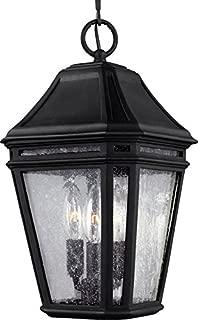 Feiss OL11309BK-LED Londontowne LED Marine Grade Outdoor Lighting Pendant Lantern, Black, 1-Light (8