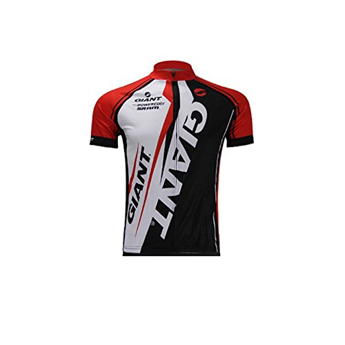 Strgao 2016 Herren Radtrikot Shirt Kurzarm Pro Team Giant MTB Radfahren Top Radshirt Atmungsaktiv Durchgehender Rei?Verschluss