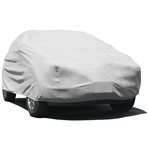 "Budge UB-3 Lite SUV Cover Scratch Resistant, Breathable, Dustproof, Dirtproof Size U3: Fits S.U.Vs up to 229"" Gray"
