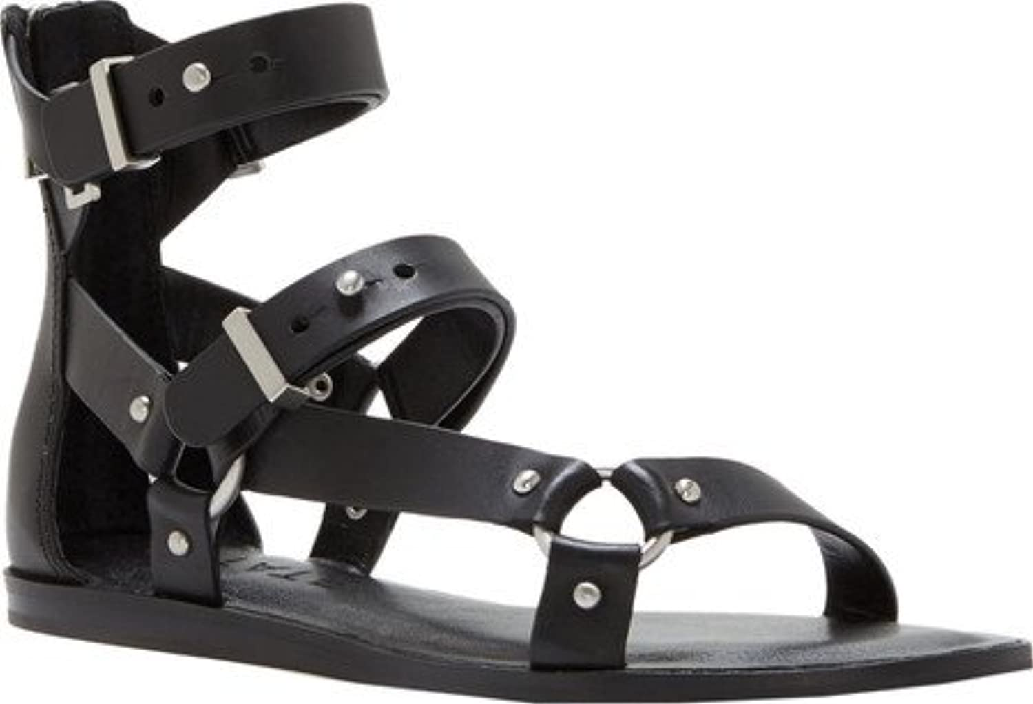 1. State Womens Channdra Leather Open Toe Casual Strappy Sandals