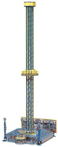 Faller 140325  - Atracción de Feria: Torre de caída Libre [Importado de Alemania]