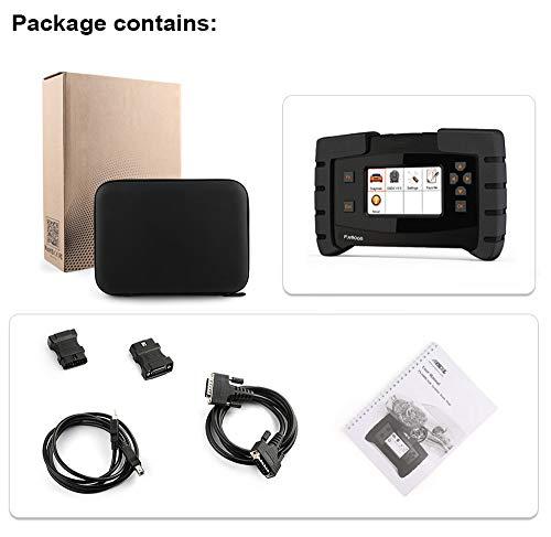 RISHENG FX6000 OBD2 escáner de diagnóstico automático Sistema Completo de diagnóstico del vehículo ODB2 ABS airbag TPMS DPF programación de Aceite OBD escáner
