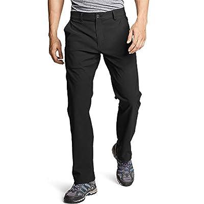 Eddie Bauer Men's Horizon Guide Chino Pants, Black Regular 34/32