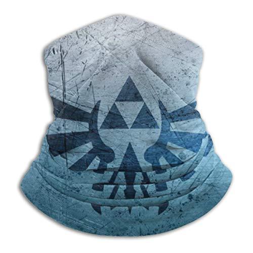 Grtswp Legend Of Zelda Nackenwärmer, Unisex, weich, winddicht, Stirnband für Sport, Wandern
