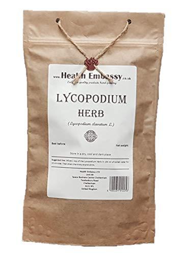 Health Embassy Keulen-Bärlapp Kraut Tee (Lycopodium clavatum L) / Lycopodium Herb Tea, 100g