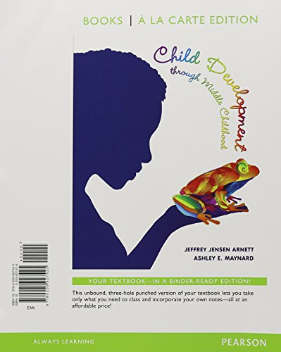 Child Development through Middle Childhood: A Cultural Approach, Books a la Carte Plus NEW MyLab Psychology  with Pearso